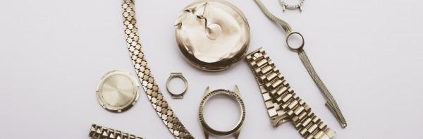 Gold- und Silberschmuck und -uhren